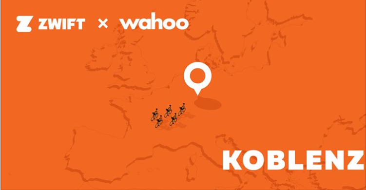 Zwift x wahoo Tour of Germany