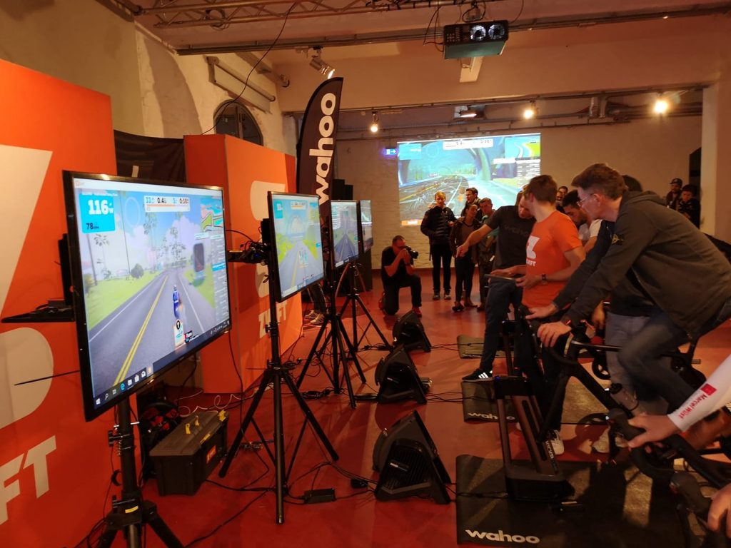 Zwift x wahoo Tour of Germany Köln